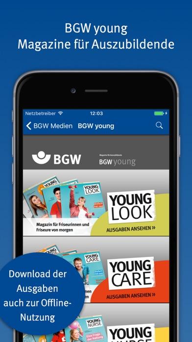 Friseur app bgw