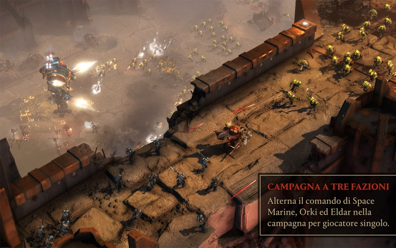 Warhammer® 40K®: DoW® III Screenshot