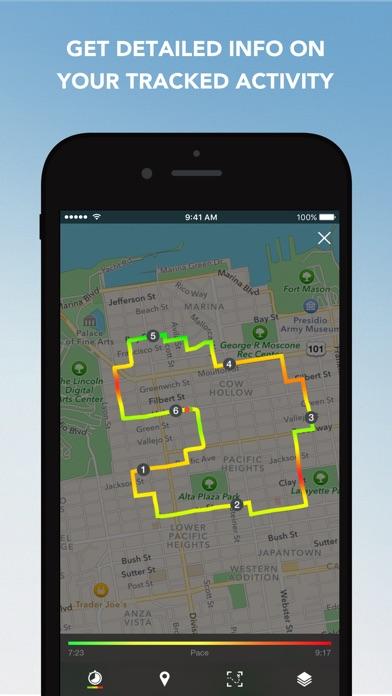 Runtastic Running Tracker PRO Screenshots