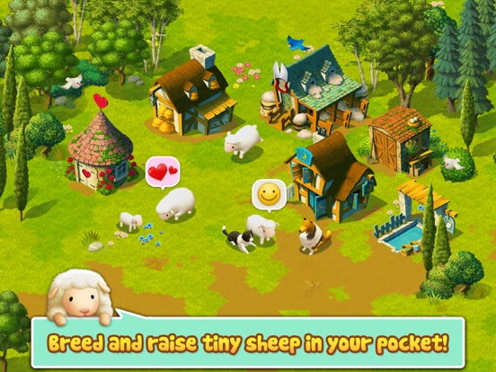 Tiny Sheep : Pet Sim on a Farm Скриншоты8