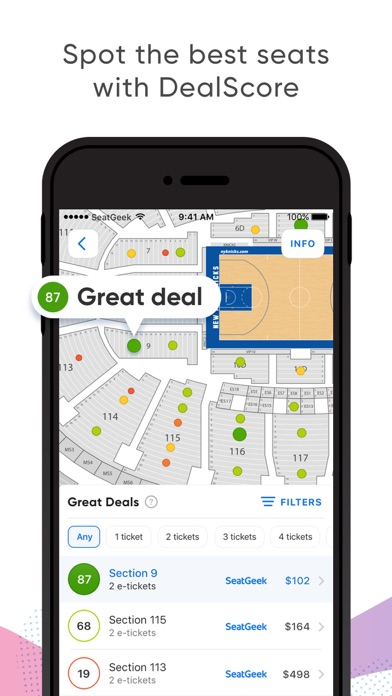 download SeatGeek - Buy Event Tickets apps 3