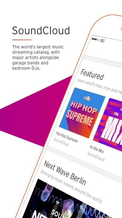SoundCloud - Music & Audio iPhone