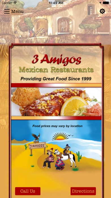 download 3 Amigos Mexican Restaurants apps 1