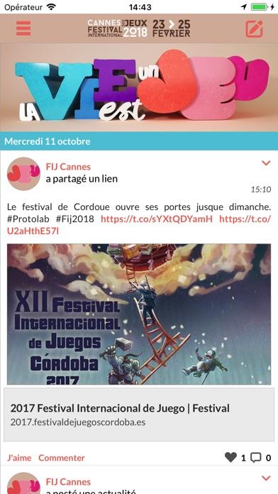 FIJ CannesCapture d'écran de 1