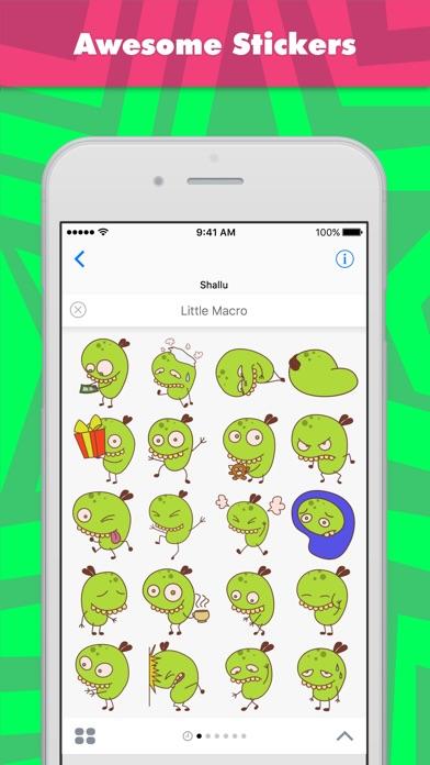 Little Macro Stickers review screenshots