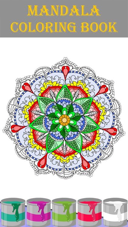 Mandala Coloring Book 2018 by osama el haddaji