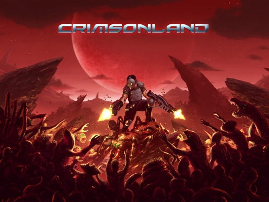 Crimsonland HD на iPad