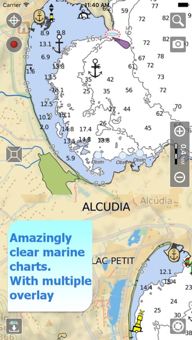 Aqua Map Spain Portugal On The App Store - Portugal on map