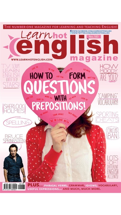 Learn Hot English Magazine review screenshots