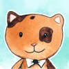 Funny Animals - very cute watercolor sticker pack