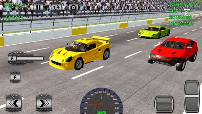 Superheroes Car Racing Sim Pro Screenshot 2