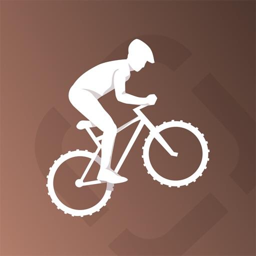 Runtastic Mountain Bike GPS Biking Computer, Ride and Route Tracker