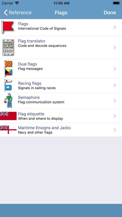 Marine Rules & Signals Screenshot 5