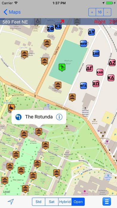 eMap UVA : University of Virginia Screenshot on iOS