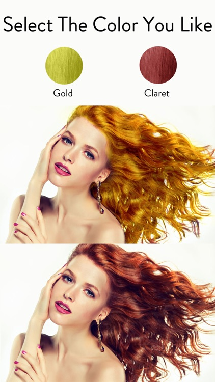 Hair Color Dye Hairstyle DIY By Hua Ye - Hairstyle color app