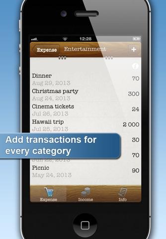 Easy Family Budget Planner screenshot 2