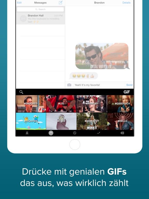Fleksy Tastatur -  GIF, Themes Screenshot