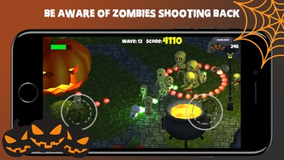 Halloween Zombie Shooter screenshot 4