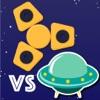 Fudget battle - Glow fidget spinners vs UFO