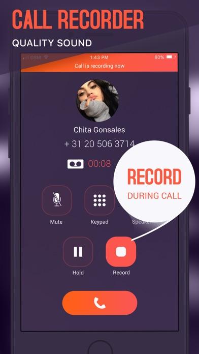 Rec Now - Call Recorder Screenshot 1