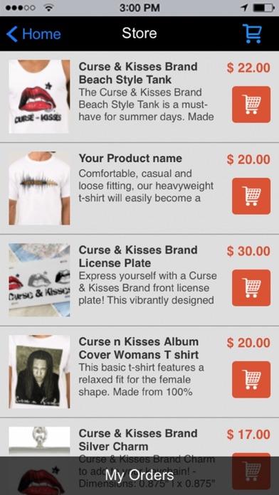 Curse and Kisses screenshot 2