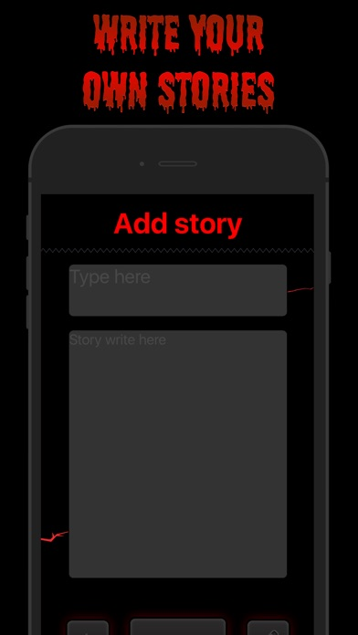scary stories horror story app report on mobile action  screenshot for scary stories horror story in united states app store