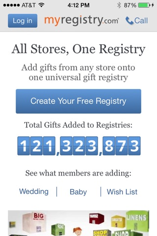 MyRegistry Universal Registry screenshot 1