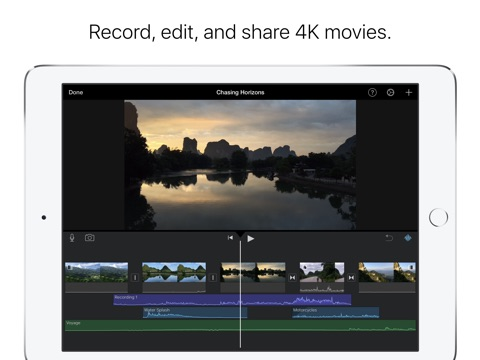 iMovie screenshot 1