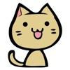 貓插圖貼紙