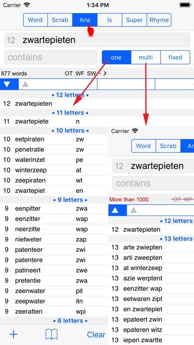 NL Woordvinder Nederlands PRO Скриншоты5