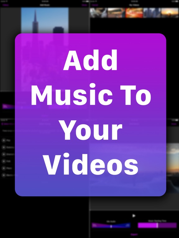 Add Music To Video Screenshots