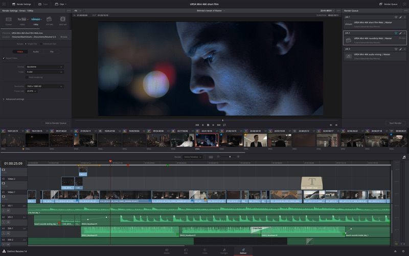 DaVinci Resolve Studio Screenshots