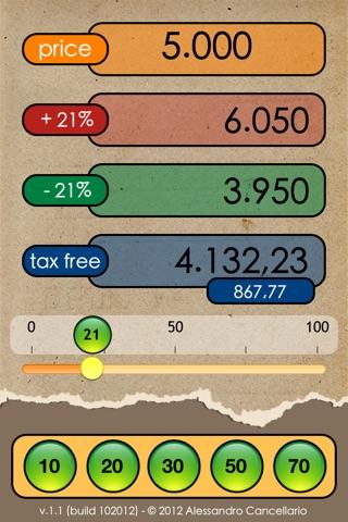 More or Less Calculator screenshot 2