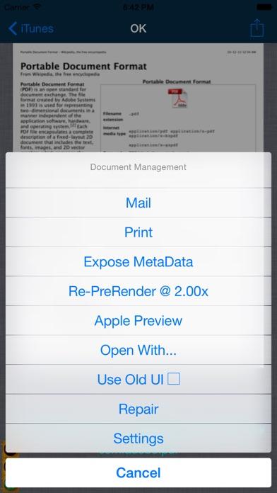 PDF Reader P.r.o. Screenshots