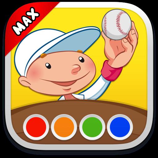 填色本 - 體育 MAX