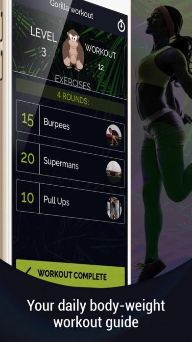 Gorilla Workout: Build Muscle Screenshots