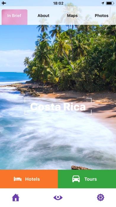 Costa Rica Guide de VoyageCapture d'écran de 1