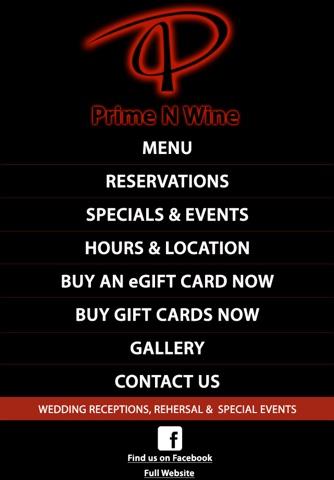 Prime N Wine screenshot 1