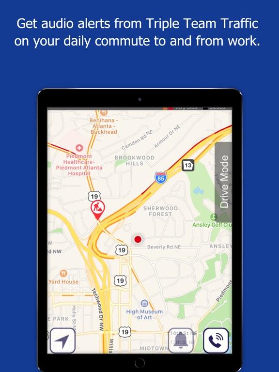 WSB Triple Team Traffic iPad