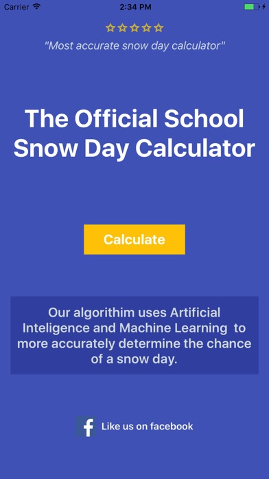 download Snow Day Calculator Pro - 2018 apps 1