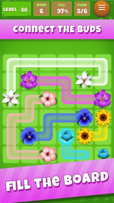 Flower Garden: Connect Mania Screenshot