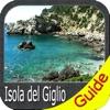 Isola del Giglio - GPS charts Navigator