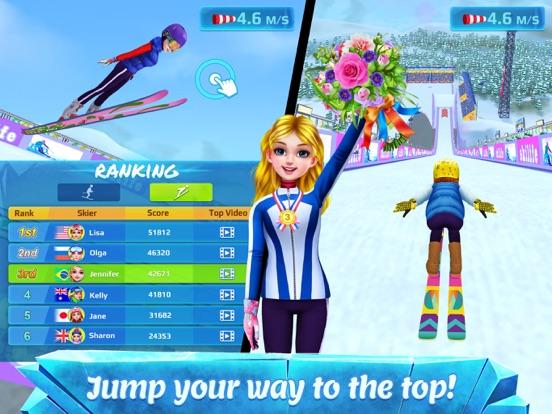 Screenshots of Ski Girl Superstar for iPad