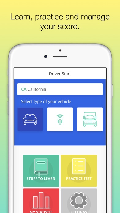 download Driver Start - Permit test Ed appstore review