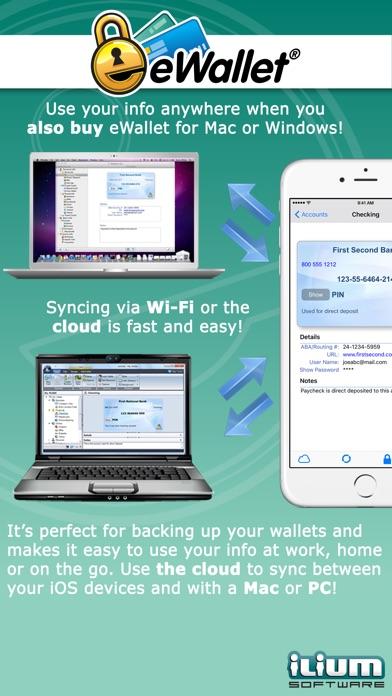 eWallet - Password Manager and Secure Storage Database Wallet Screenshot 3
