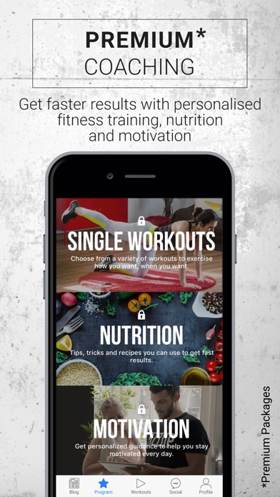 download FizzUp - Workouts & Nutrition appstore review