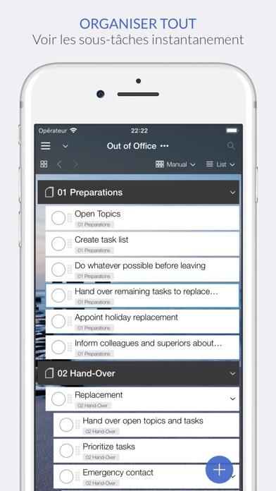 Organize:Pro - Task ManagerCapture d'écran de 1