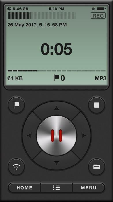 Voice Recorder PRO, Memos Screenshots