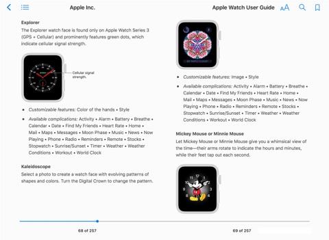 apple watch user guide pdf