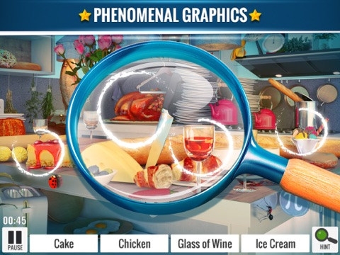 Hidden Objects Messy Kitchen screenshot 1